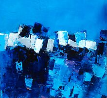 Mood in Blue by Elise Palmigiani