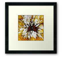 Blast From The Past Abstract Art Framed Print