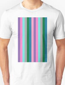Colorful stripes pattern T-Shirt