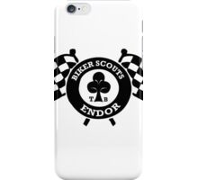 Ace Biker Scout Scout trooper iPhone Case/Skin
