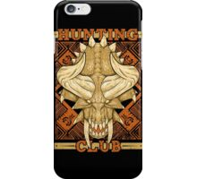 Hunting Club: Diablos iPhone Case/Skin