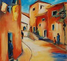 Provencal Street by Elise Palmigiani