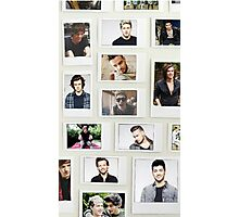 One Direction Polaroid Photographic Print
