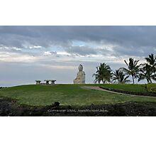 Buddha Point Statue Photographic Print