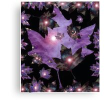 Magical Leaf  Canvas Print