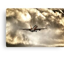 In Search of The Sun Canvas Print