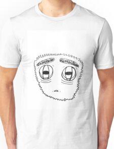 WORRIED GUY FACE Unisex T-Shirt