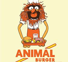 Animal Burger by starvingmartian