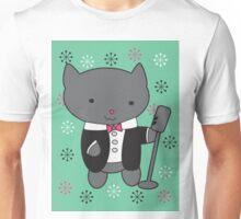 Lounge Singer Cat Unisex T-Shirt