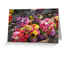 flowers from the vineyard Greeting Card