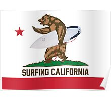 Surfing California Poster