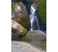 Waterfall nearby Teresopolis, Rio de Janeiro Photographic Print