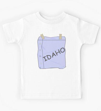 I'm Idaho!  Kids Tee