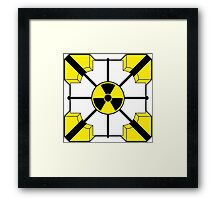 Anti-Companion Cubes - Radioactive Framed Print