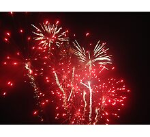 Guy Fawkes Fireworks Photographic Print