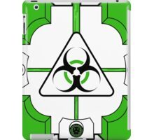Anti-Companion Cubes - Biohazard iPad Case/Skin