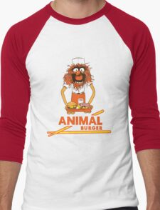 Animal Burger Men's Baseball ¾ T-Shirt