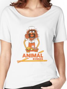 Animal Burger Women's Relaxed Fit T-Shirt
