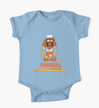 Animal Burger One Piece - Short Sleeve