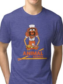 Animal Burger Tri-blend T-Shirt