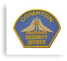 Compton Security Canvas Print