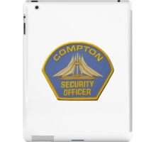 Compton Security iPad Case/Skin