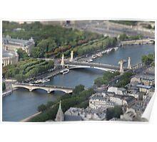Tilted Seine Poster