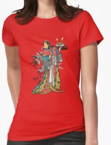 In the garden. Womens Fitted T-Shirt