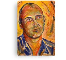 Portrait - Uwe Canvas Print