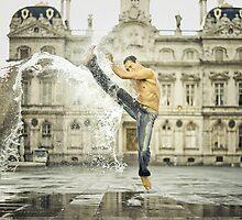 Sepak splash by Etienne RUGGERI Artwork eRAW