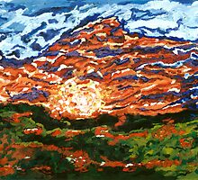 Steiner Ranch Sun Set           by Philip Barousse