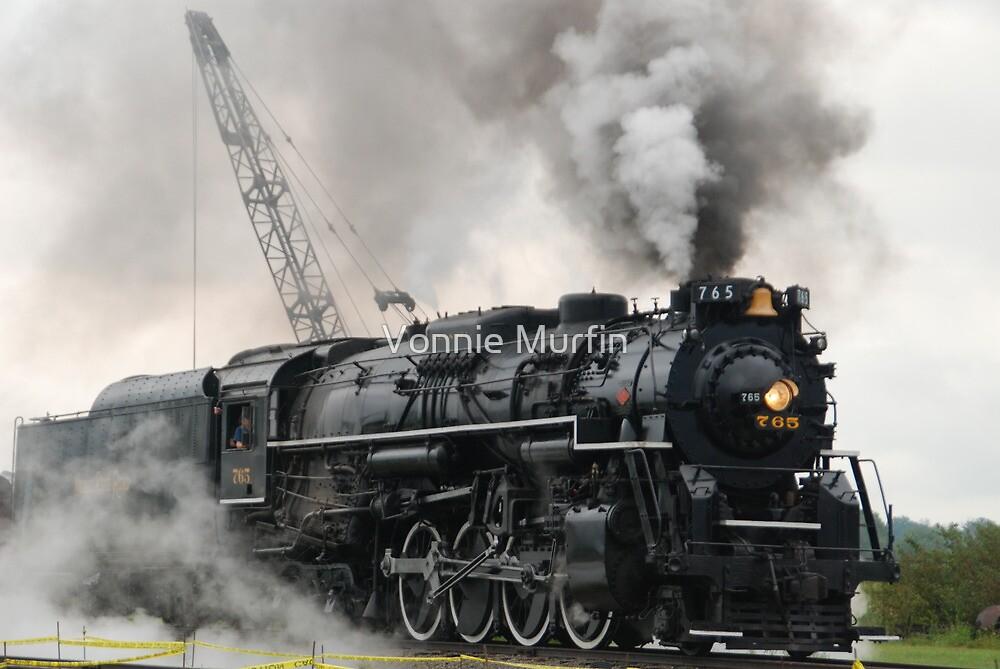 Smokey Train by Vonnie Murfin