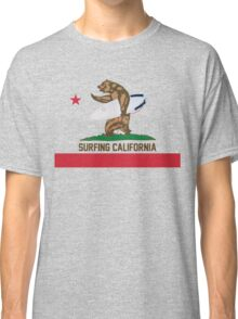 Surfing California Classic T-Shirt