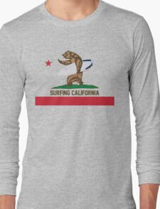 Surfing California Long Sleeve T-Shirt