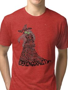 WICKED Musical Elphaba Tri-blend T-Shirt