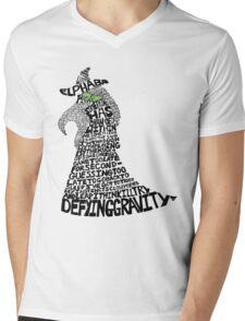 WICKED Musical Elphaba Mens V-Neck T-Shirt