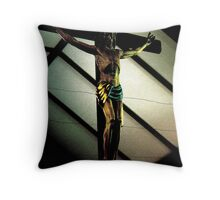 The Hanging Savior Throw Pillow