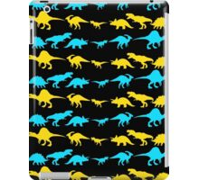Dinosaur World Blue and Yellow iPad Case/Skin