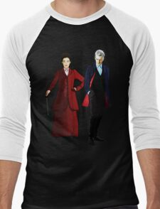 Doctor Who - 12th Doctor and Missy Men's Baseball ¾ T-Shirt