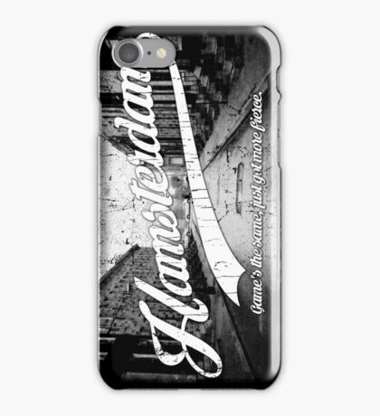 Hamsterdam - Cloud Nine Edition (White) iPhone Case/Skin