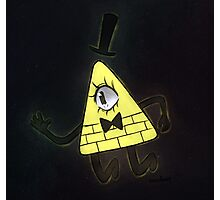 bill cipher dream (space edit) Photographic Print