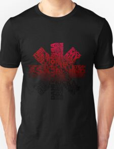 Red Hot Chilli Peppers Typography  Unisex T-Shirt