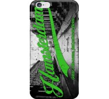 Hamsterdam - Cloud Nine Edition (Green) iPhone Case/Skin