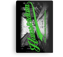 Hamsterdam - Cloud Nine Edition (Green) Metal Print