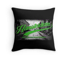 Hamsterdam - Cloud Nine Edition (Green) Throw Pillow