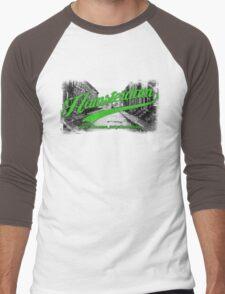 Hamsterdam - Cloud Nine Edition (Green) Men's Baseball ¾ T-Shirt