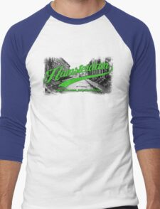Hamsterdam - Cloud Nine Edition (Green) Men's Baseball ¾ T-Shirt