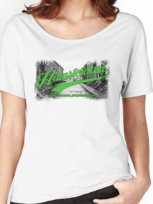Hamsterdam - Cloud Nine Edition (Green) Women's Relaxed Fit T-Shirt