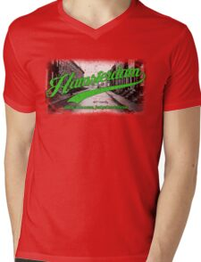 Hamsterdam - Cloud Nine Edition (Green) Mens V-Neck T-Shirt