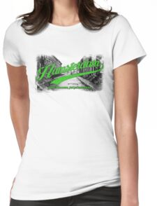 Hamsterdam - Cloud Nine Edition (Green) Womens Fitted T-Shirt